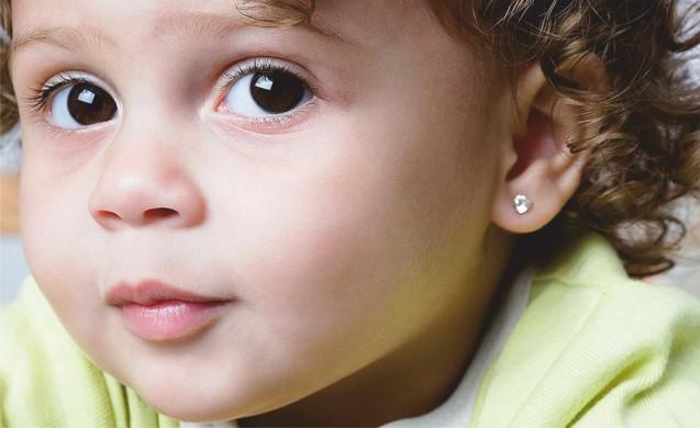 Спеціальна пропозиція на проколювання вушок дітям